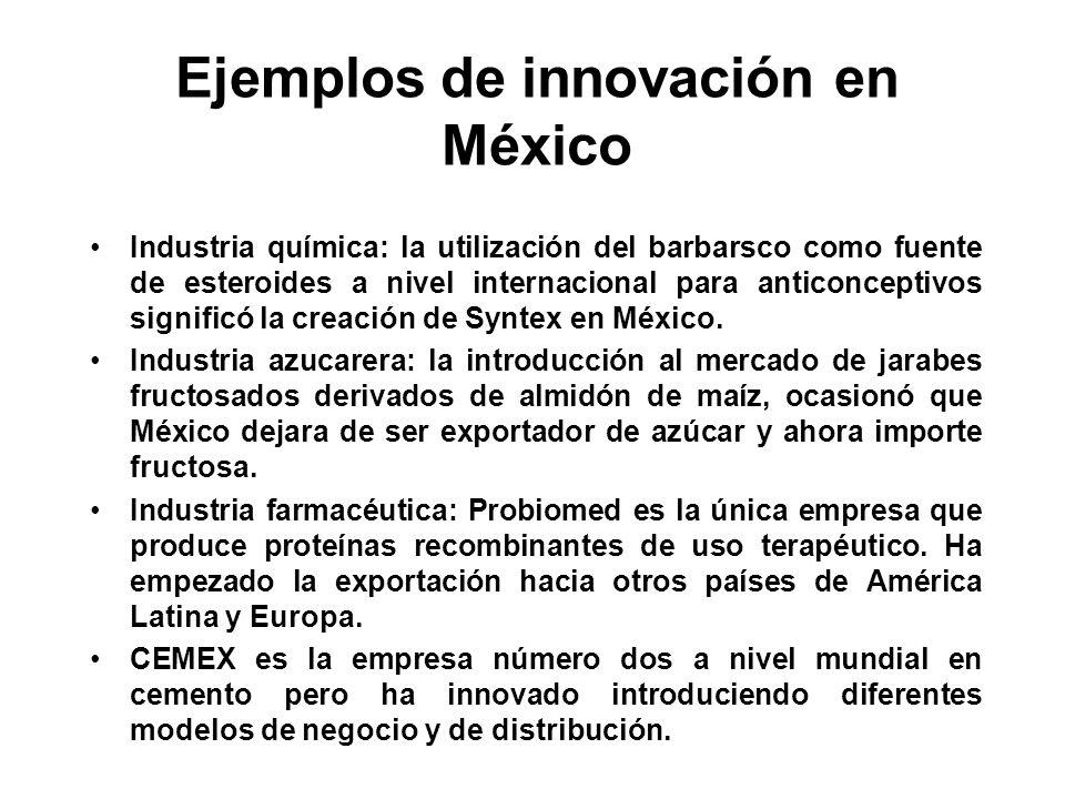 Ejemplos de innovación en México