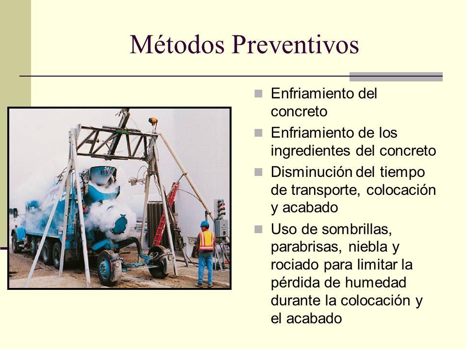 Métodos Preventivos Enfriamiento del concreto