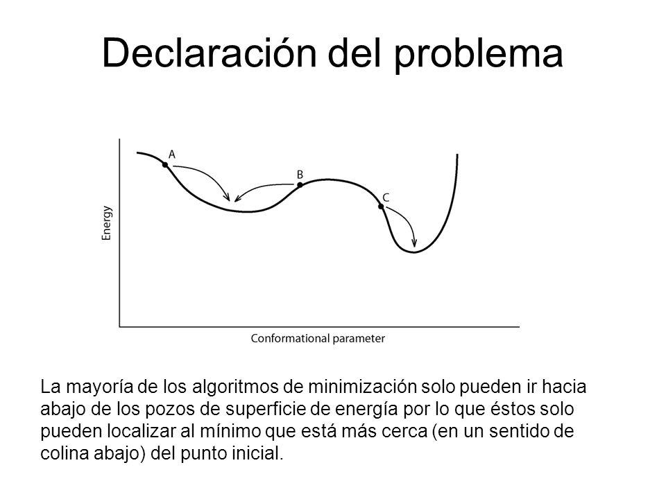 Declaración del problema