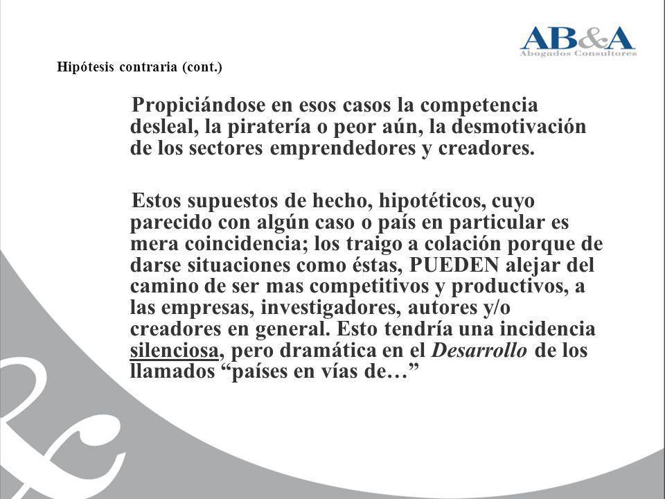 Hipótesis contraria (cont.)