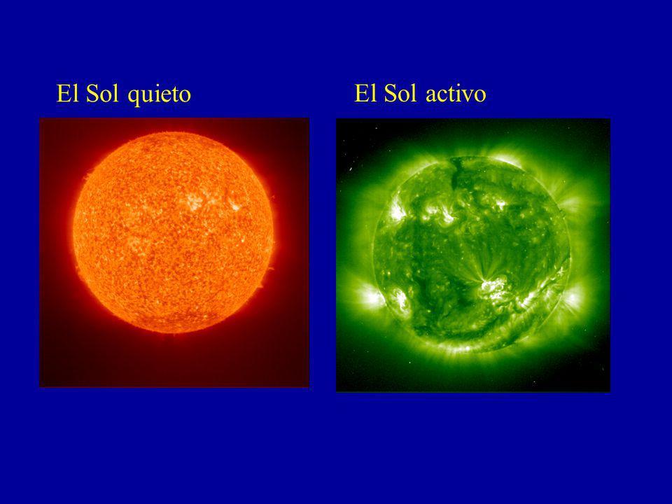 El Sol quieto El Sol activo