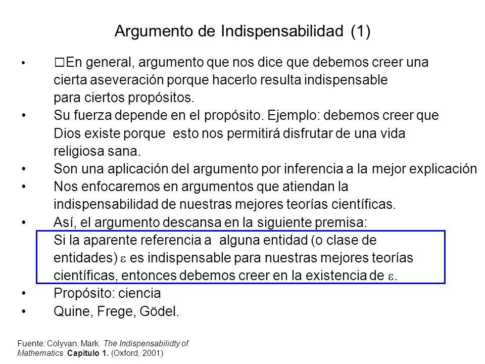 Argumento de Indispensabilidad (1)