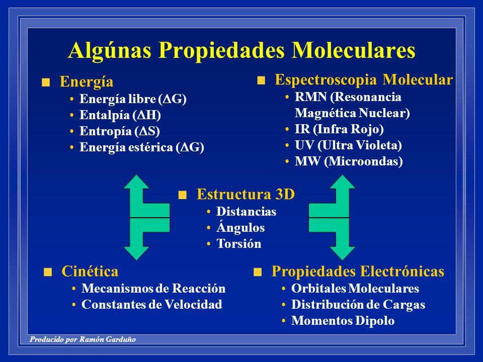 Algúnas Propiedades Moleculares