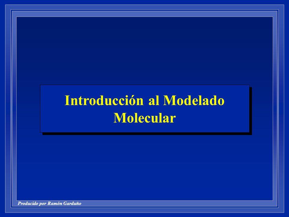 Introducción al Modelado Molecular