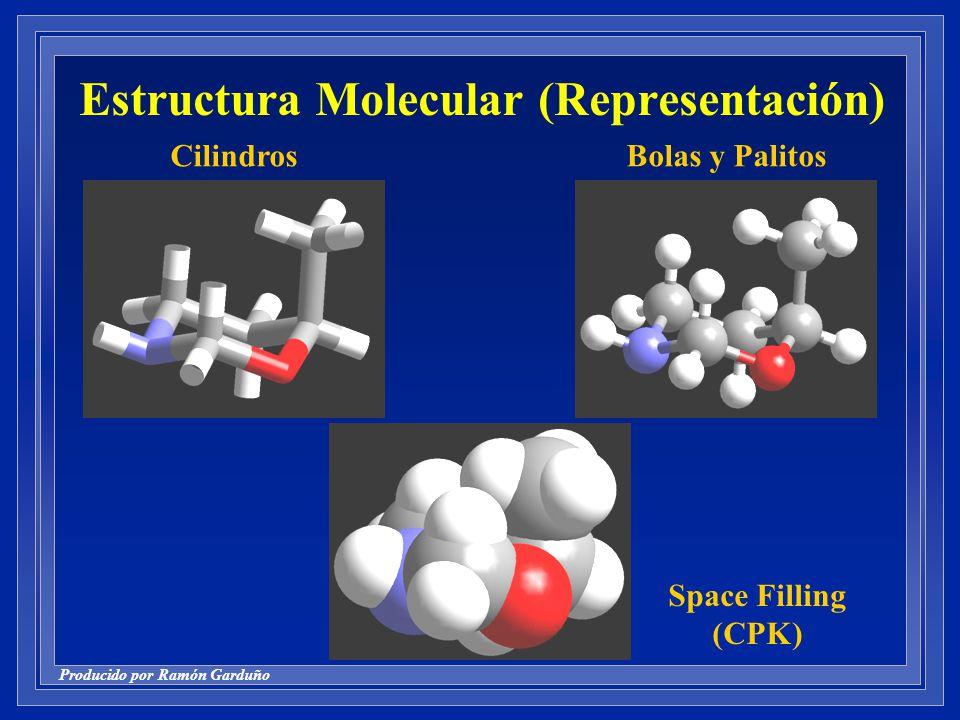 Estructura Molecular (Representación)