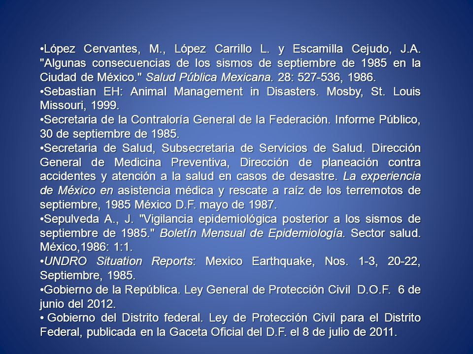 López Cervantes, M. , López Carrillo L. y Escamilla Cejudo, J. A
