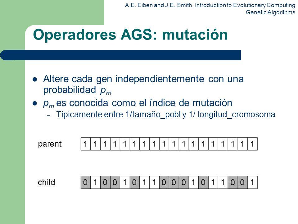 Operadores AGS: mutación
