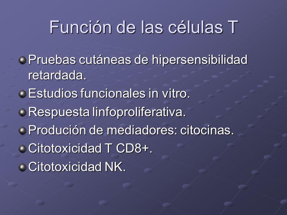 Función de las células T