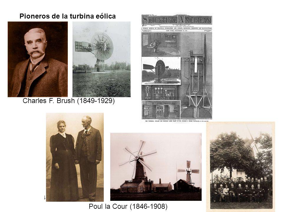 Pioneros de la turbina eólica