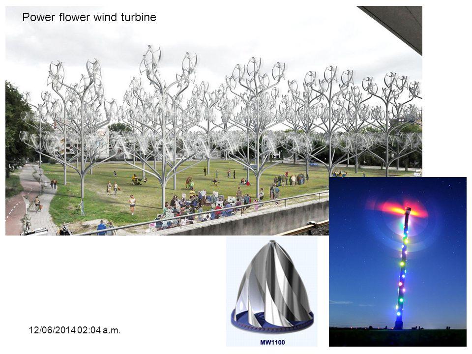 Power flower wind turbine