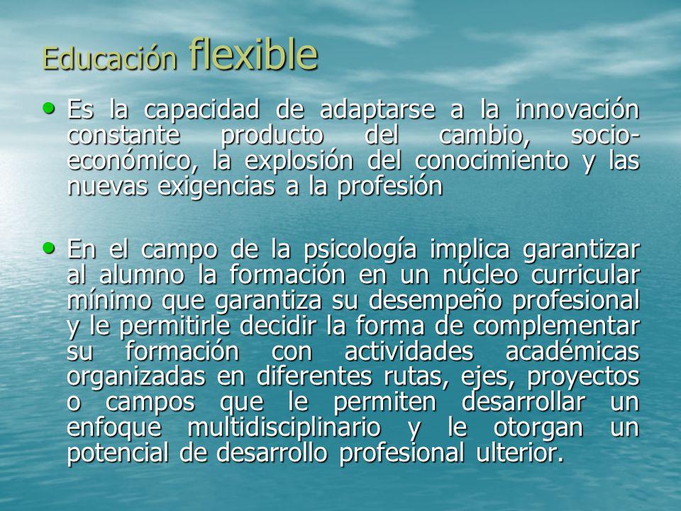 Educación flexible