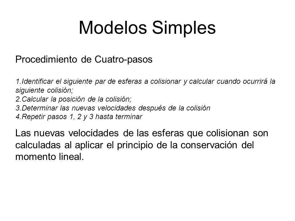 Modelos Simples Procedimiento de Cuatro-pasos