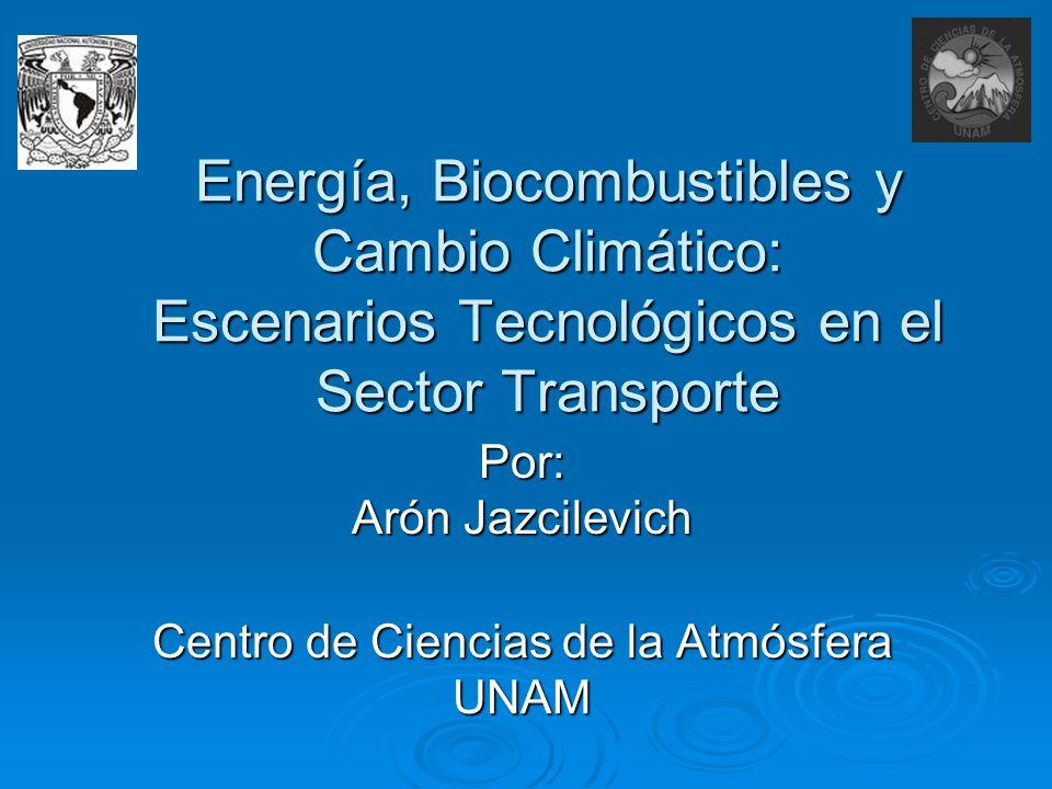 Por: Arón Jazcilevich Centro de Ciencias de la Atmósfera UNAM