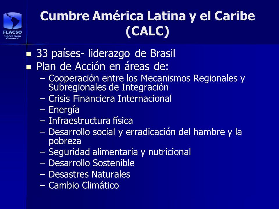 Cumbre América Latina y el Caribe (CALC)