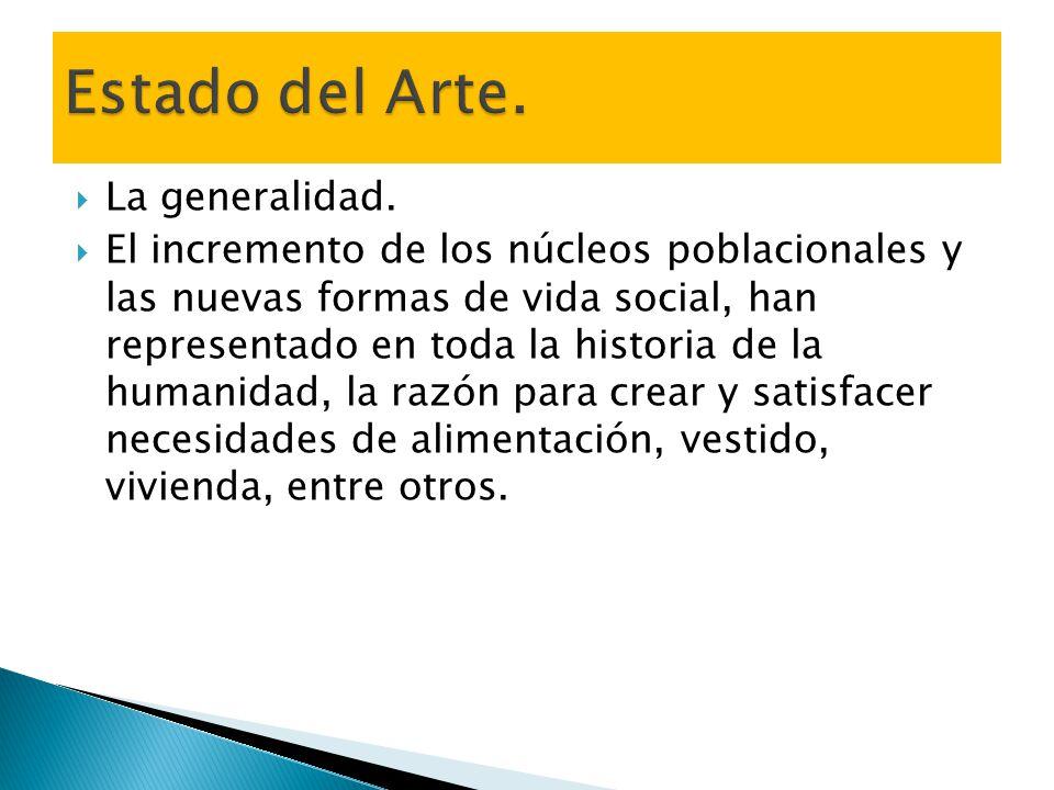 Estado del Arte. La generalidad.