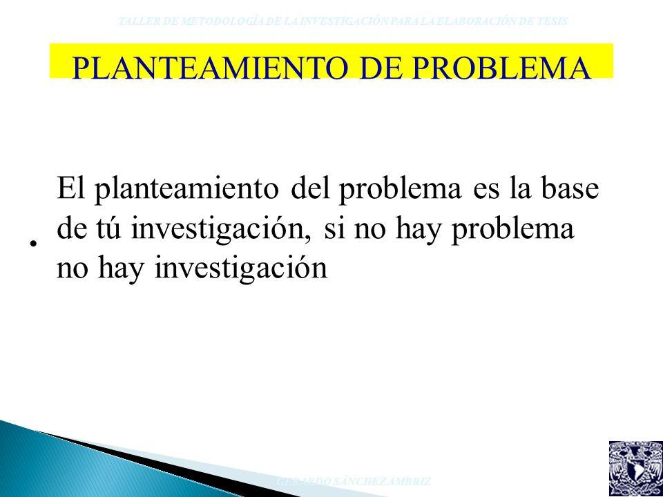 PLANTEAMIENTO DE PROBLEMA