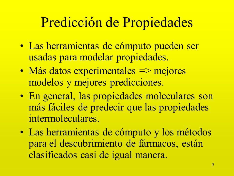 Predicción de Propiedades