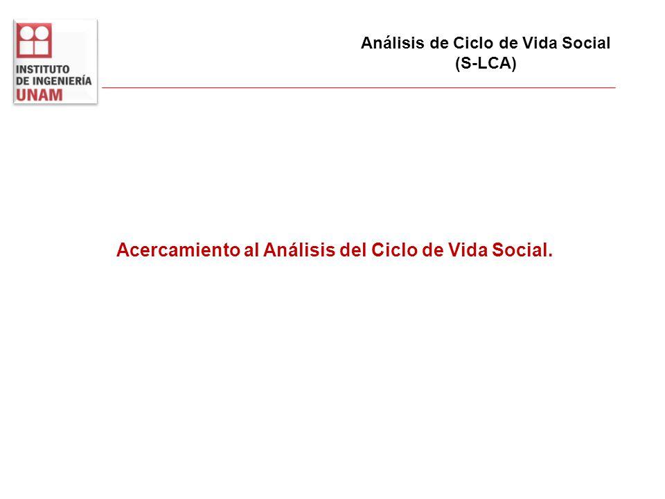 Acercamiento al Análisis del Ciclo de Vida Social.