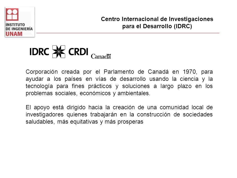 Centro Internacional de Investigaciones para el Desarrollo (IDRC)