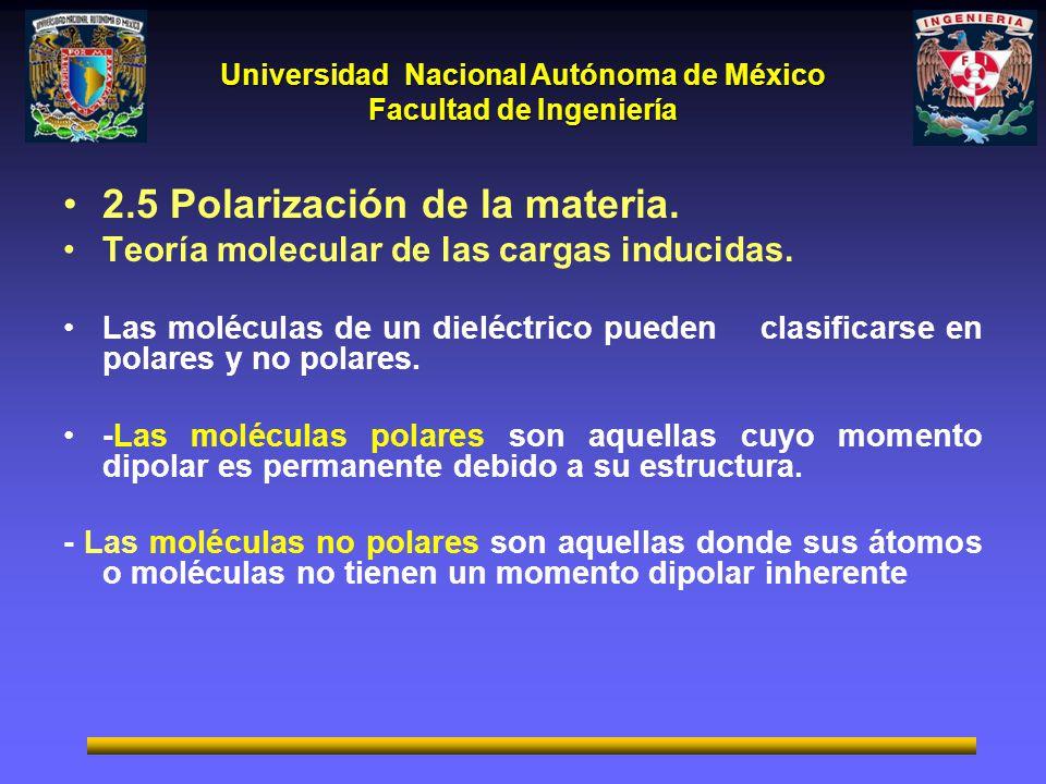 2.5 Polarización de la materia.
