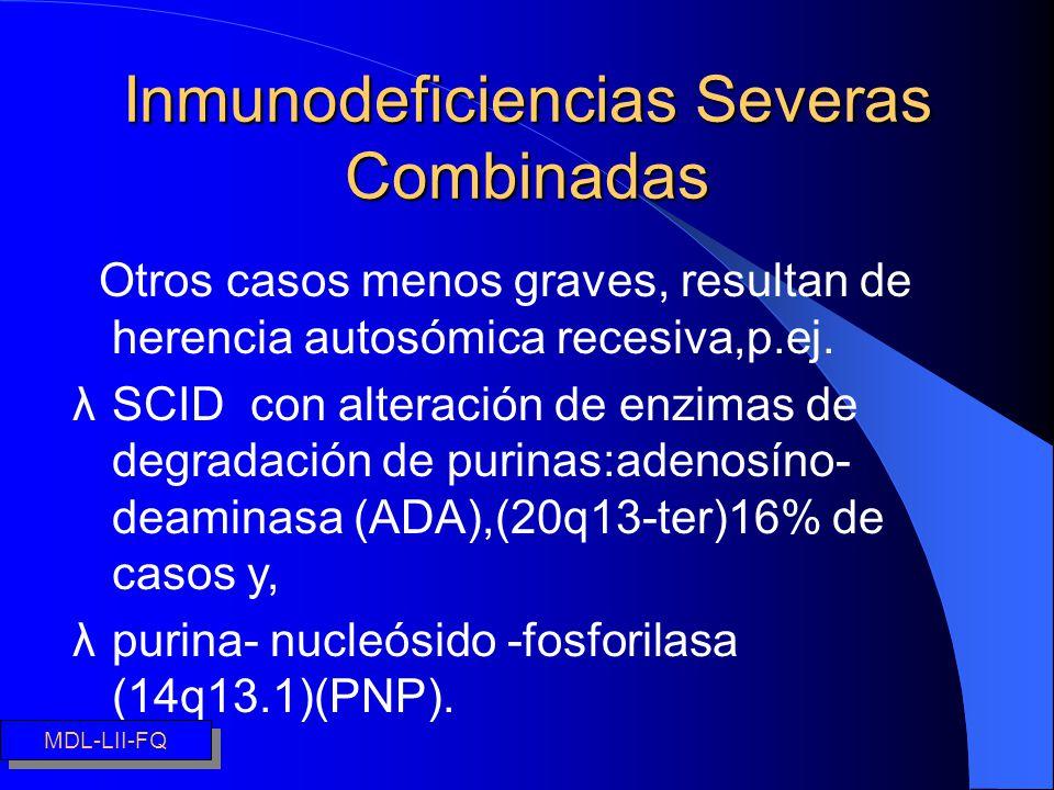 Inmunodeficiencias Severas Combinadas