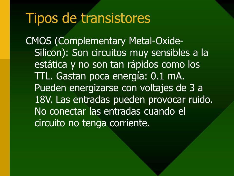 Tipos de transistores
