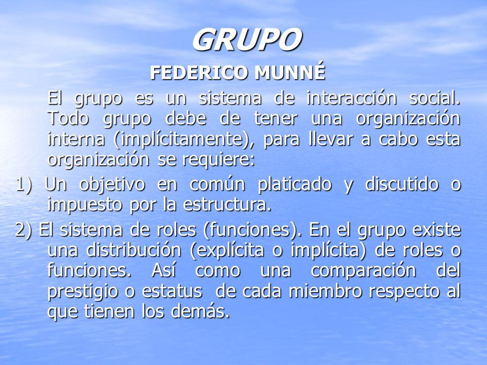 GRUPO FEDERICO MUNNÉ.