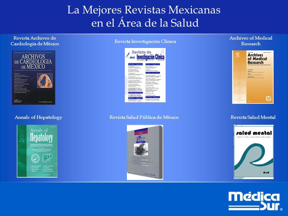 La Mejores Revistas Mexicanas en el Área de la Salud