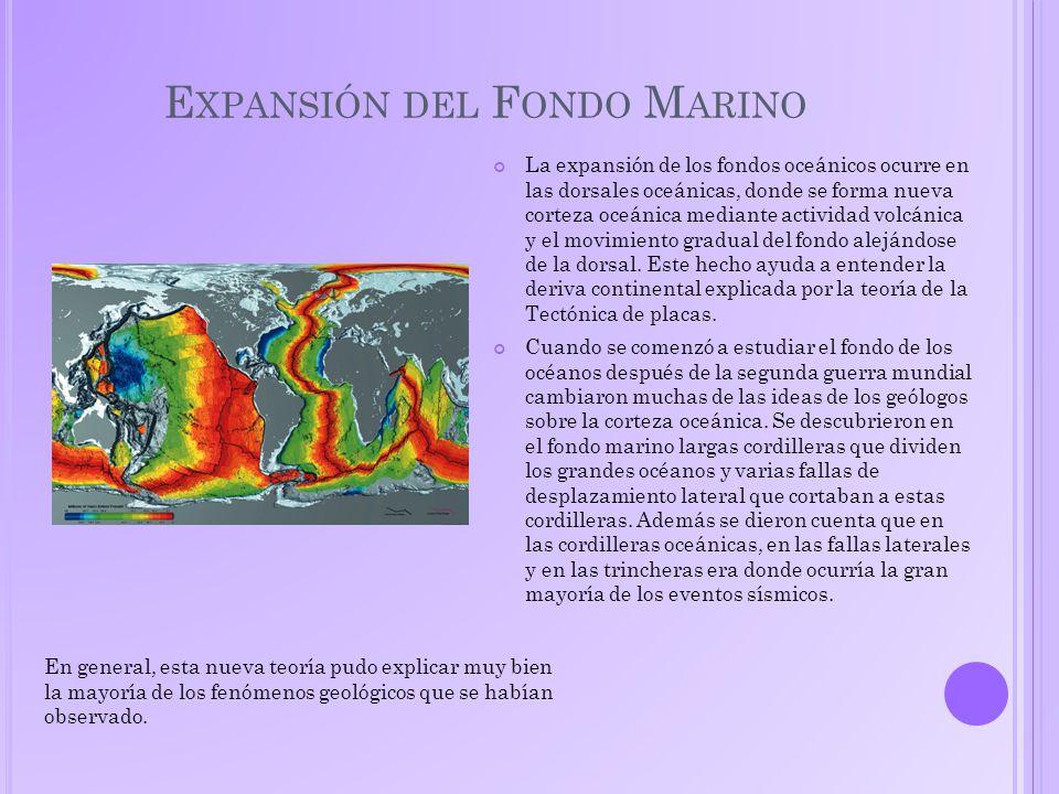 Expansión del Fondo Marino