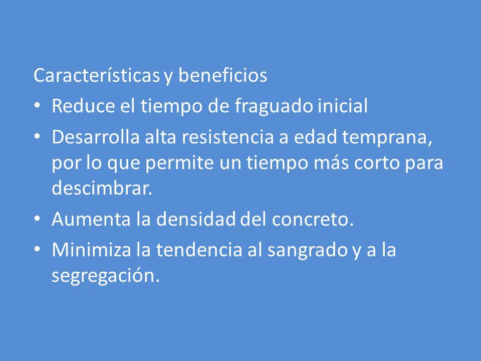 Características y beneficios