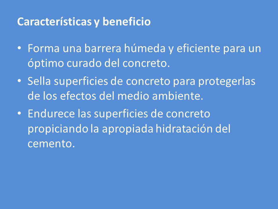 Características y beneficio