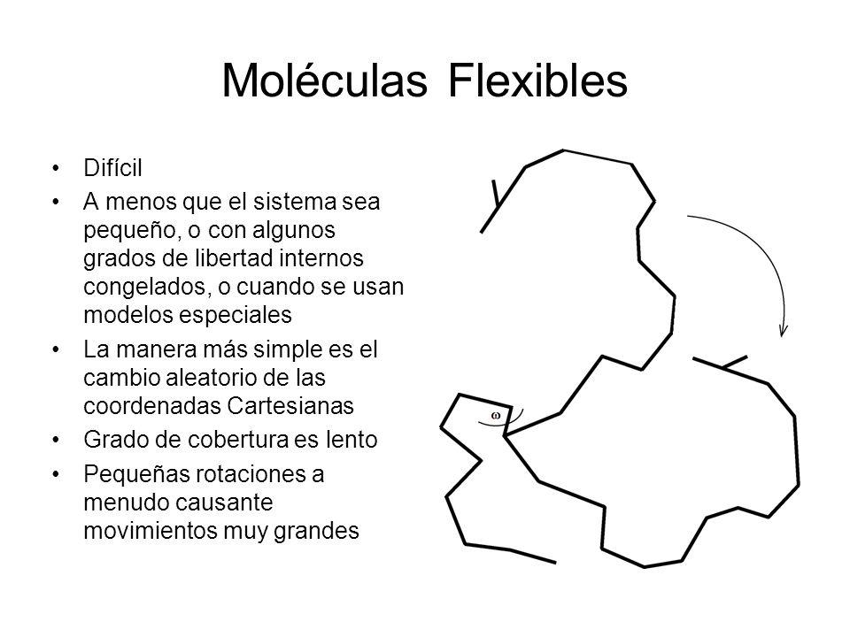 Moléculas Flexibles Difícil
