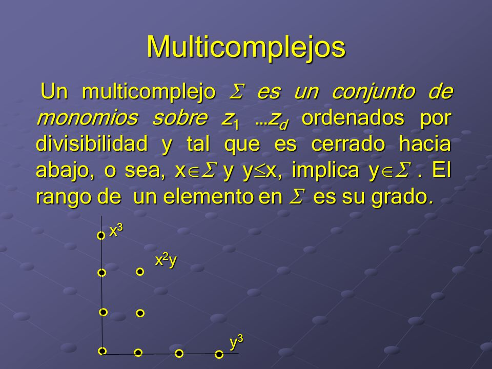 Multicomplejos