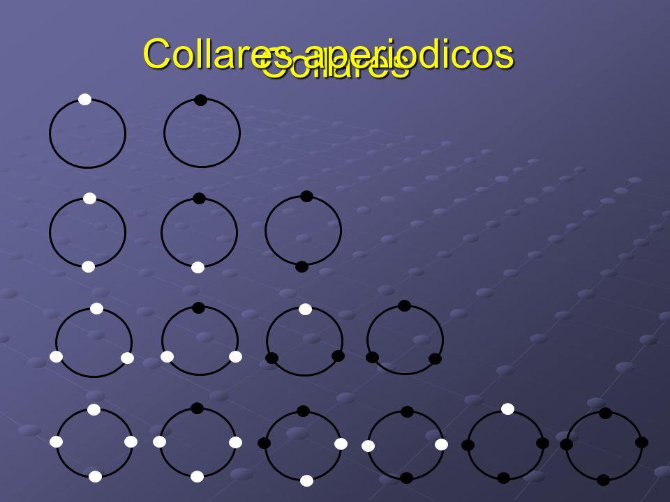Collares aperiodicos Collares