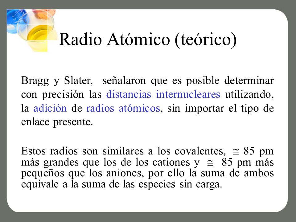 Radio Atómico (teórico)