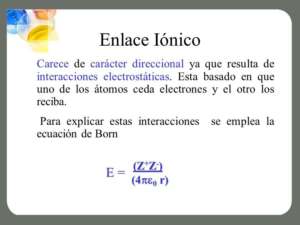 Enlace Iónico