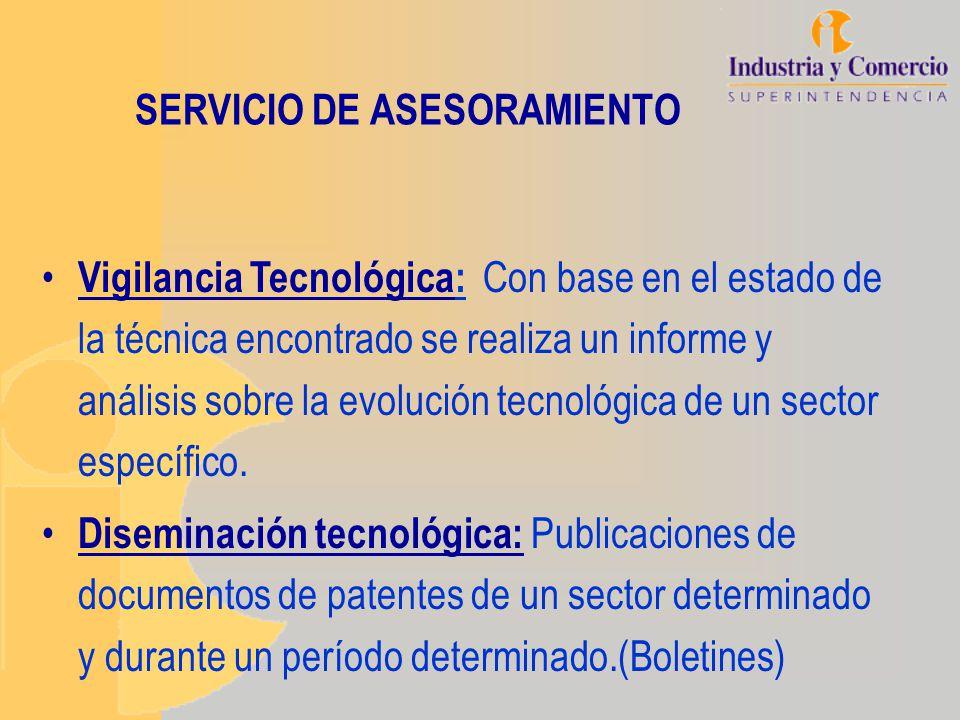 SERVICIO DE ASESORAMIENTO