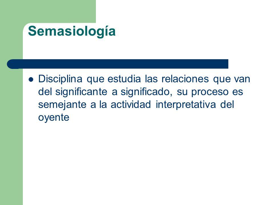 Semasiología