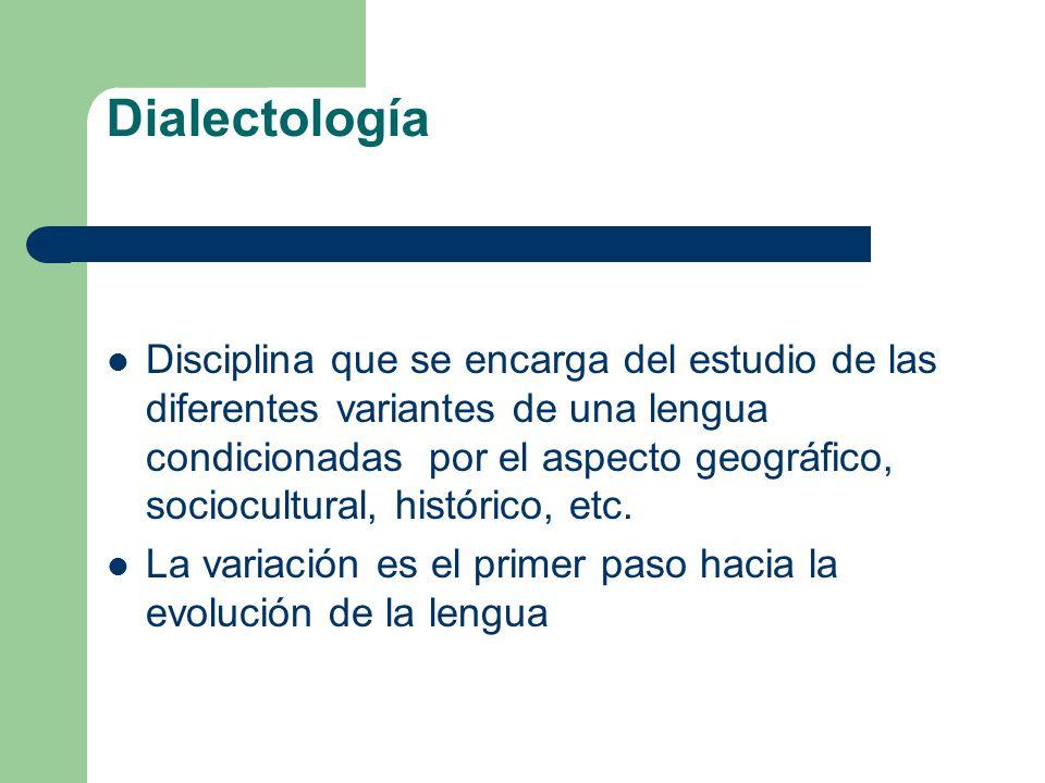 Dialectología
