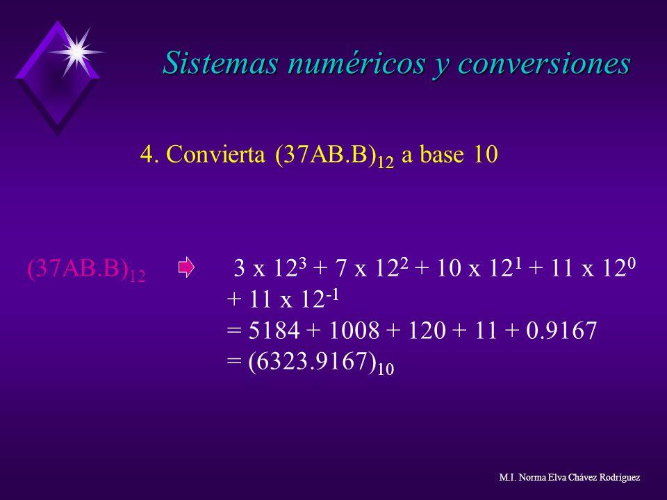 Sistemas numéricos y conversiones