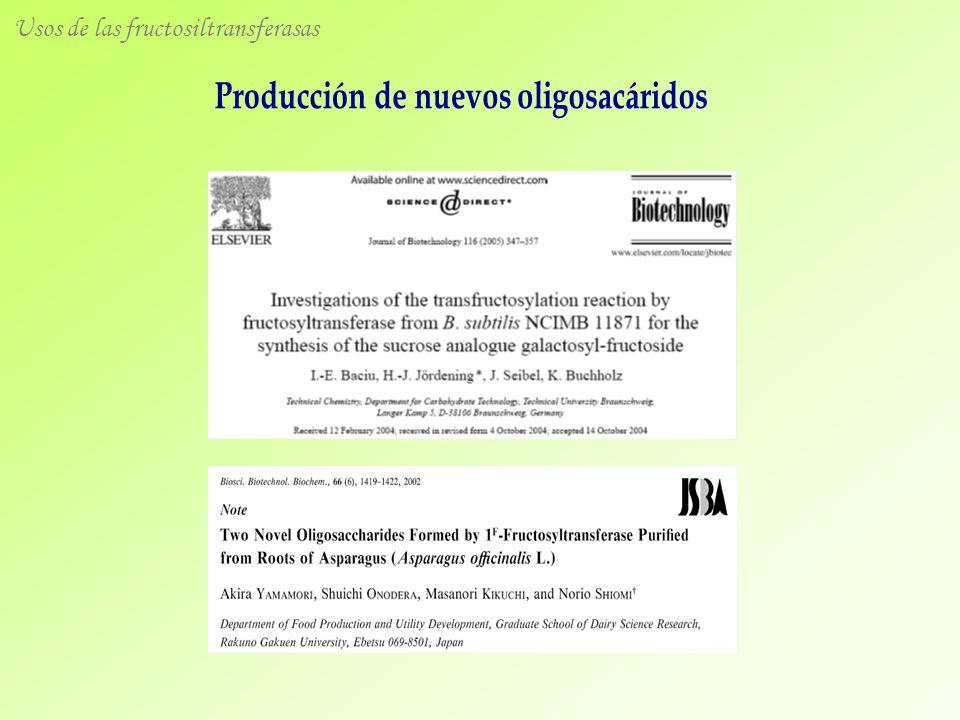 Producción de nuevos oligosacáridos