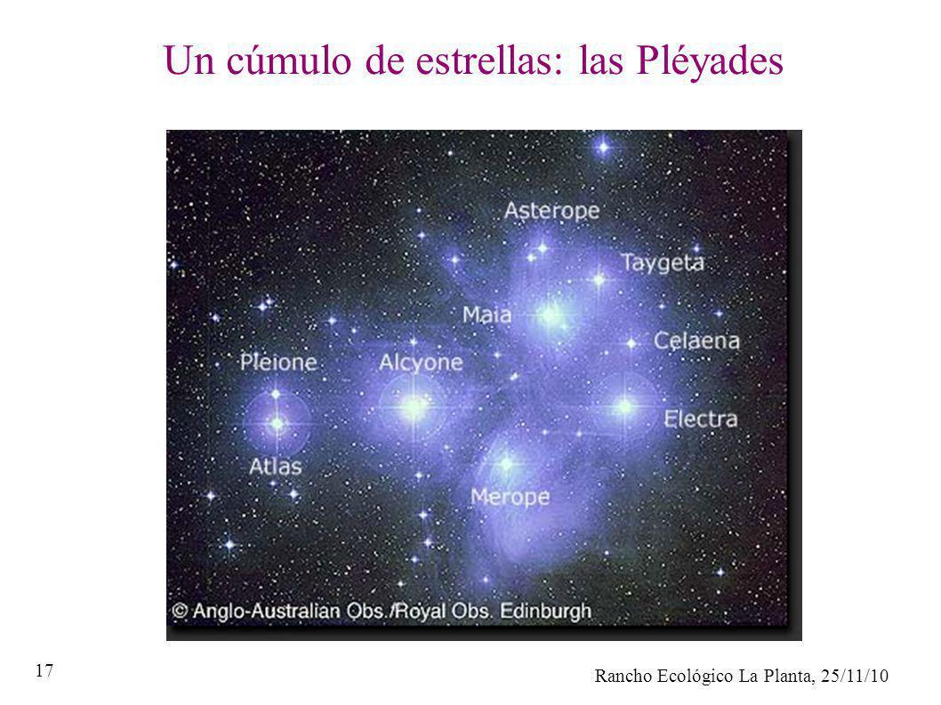 Un cúmulo de estrellas: las Pléyades