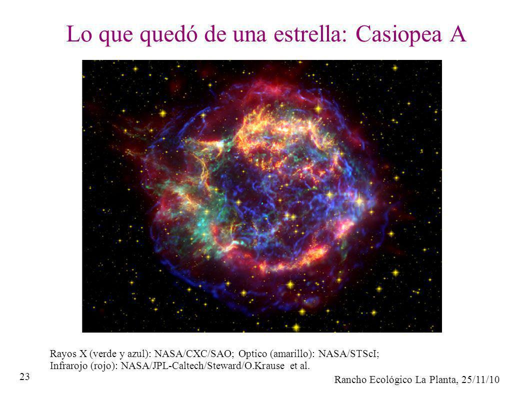 Lo que quedó de una estrella: Casiopea A