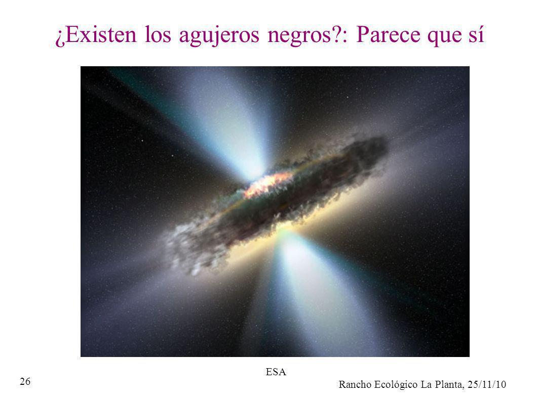 ¿Existen los agujeros negros : Parece que sí