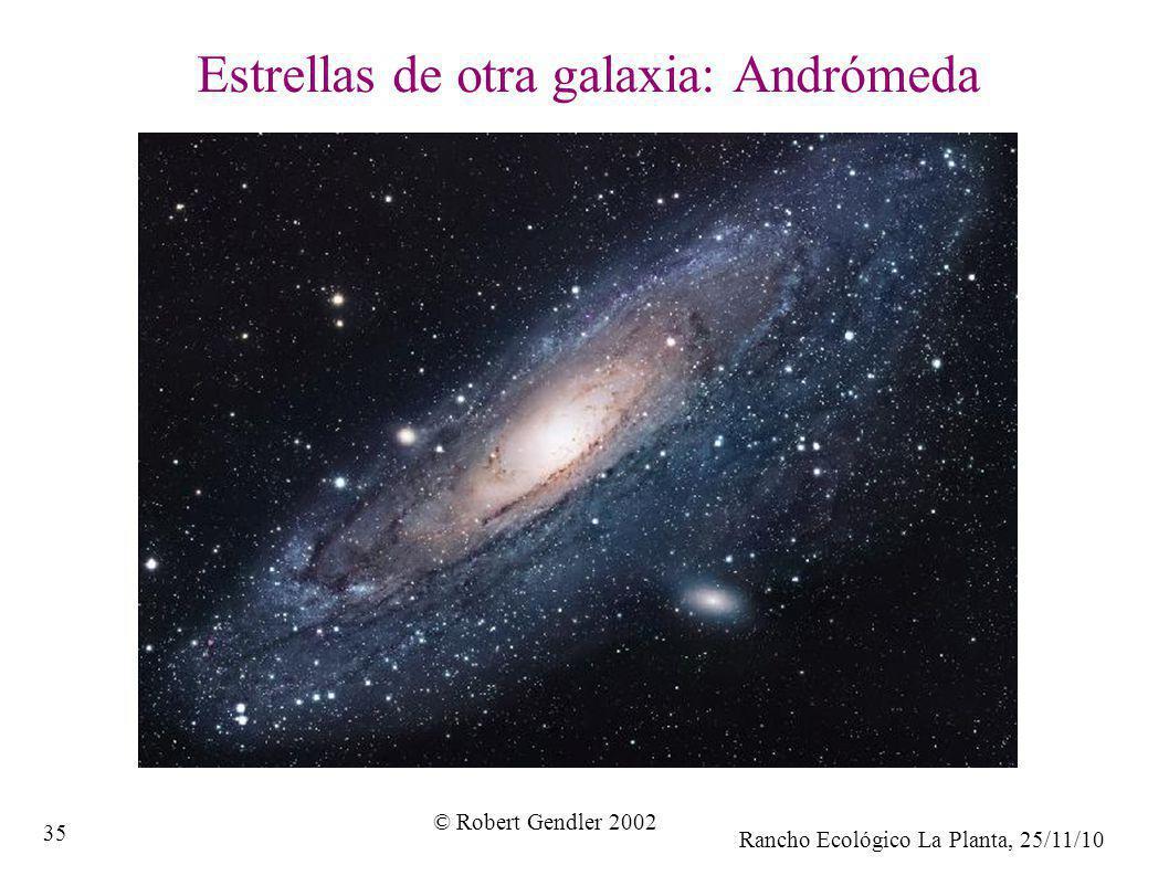Estrellas de otra galaxia: Andrómeda
