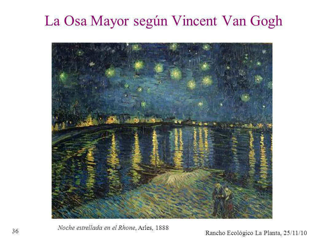 La Osa Mayor según Vincent Van Gogh