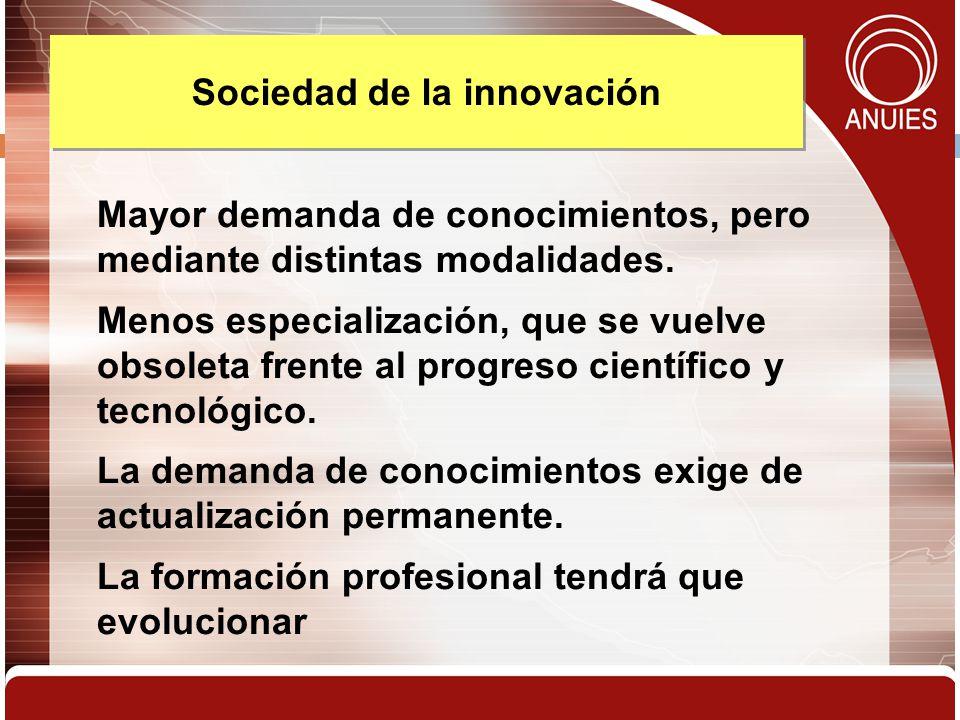 Sociedad de la innovación
