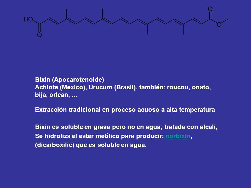 Bixin (Apocarotenoide)