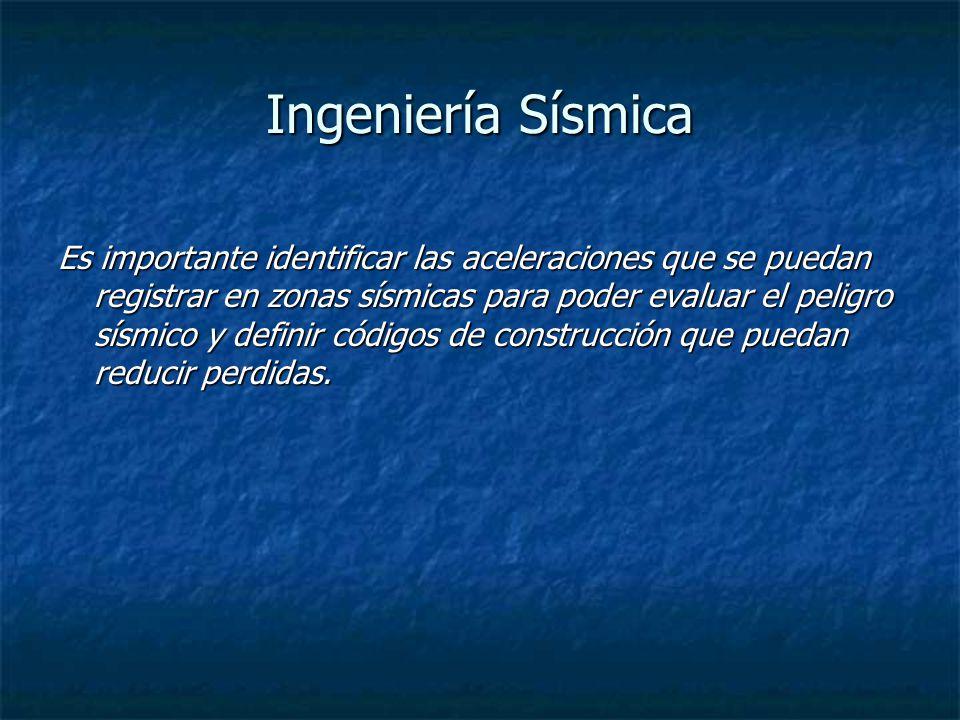 Ingeniería Sísmica