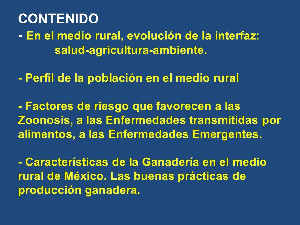 CONTENIDO - En el medio rural, evolución de la interfaz: